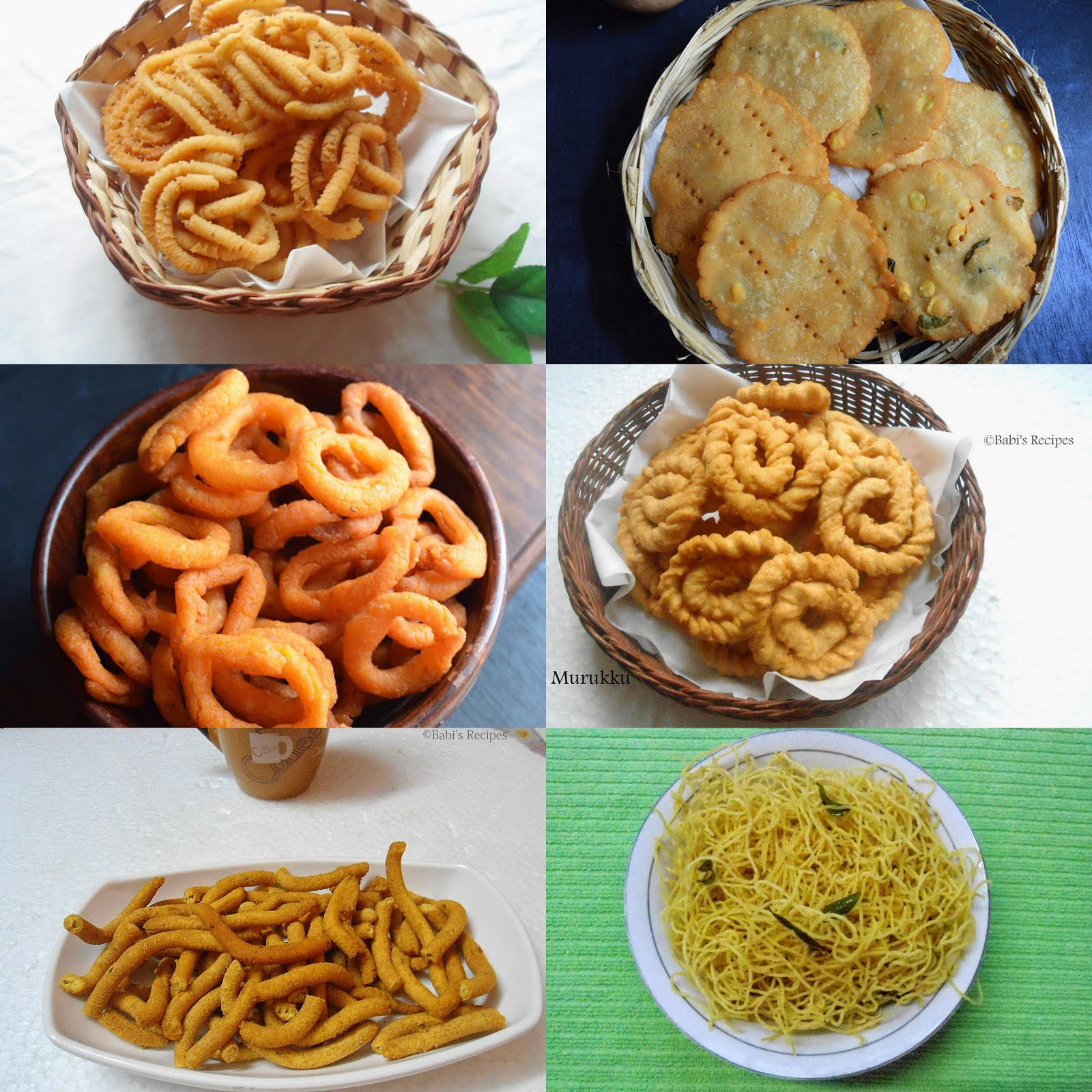 Savory Snack for Diwali