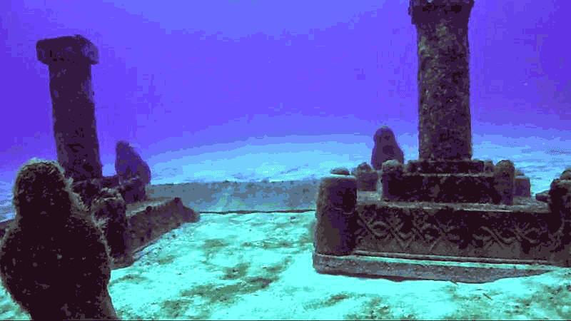 Reruntuhan Kota Dwarka