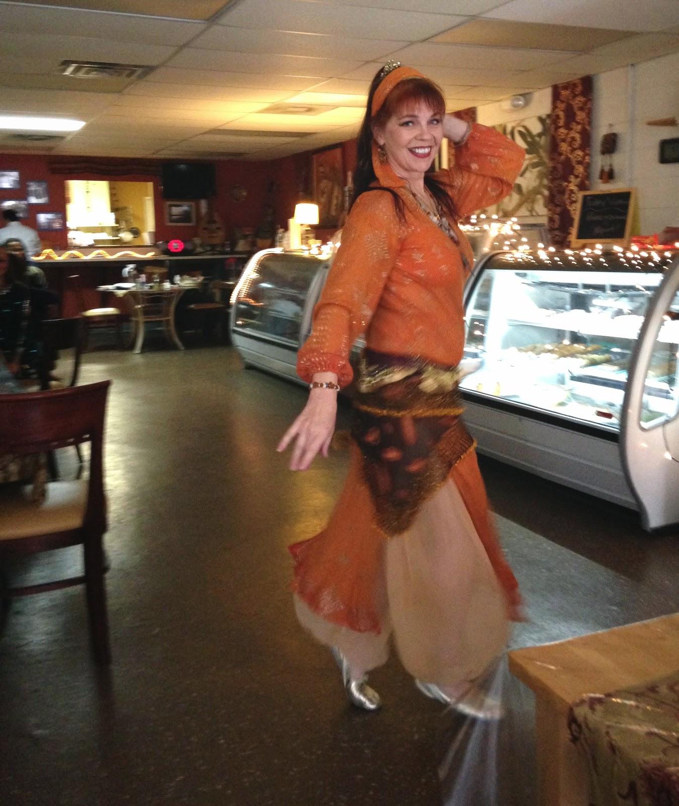 Anthea Kawakib in orange assiut