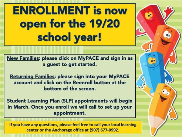 Enrollment for PACE Now Open!