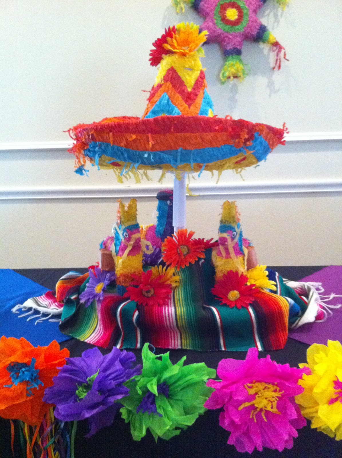 Party ideas mexican on pinterest cinco de mayo fiestas for Decoration de table