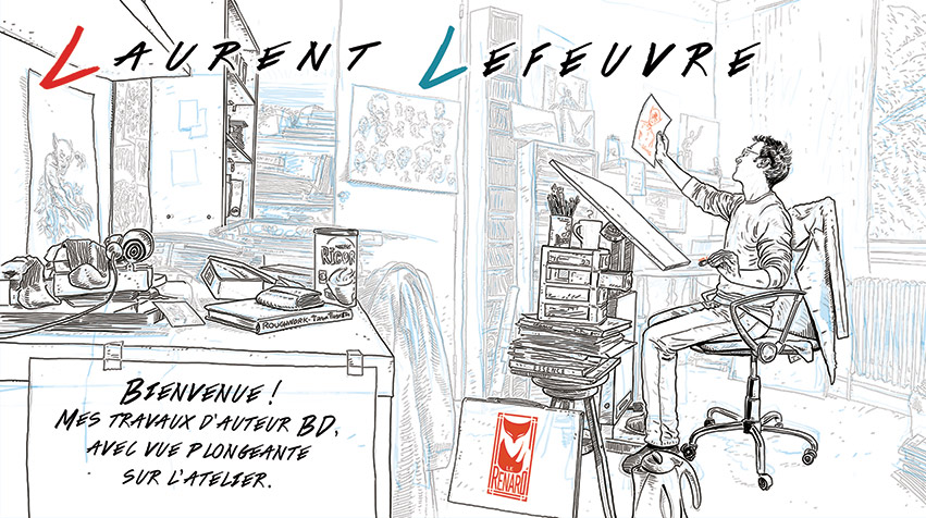Laurent Lefeuvre BD & Comics