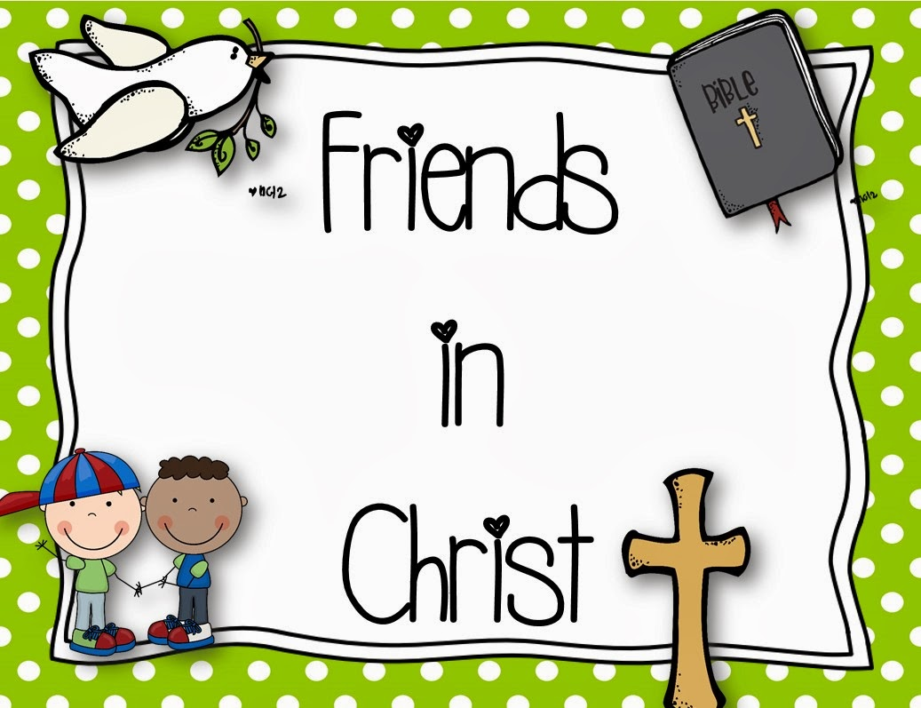 Mrs. B's Beehive - Friends in Christ