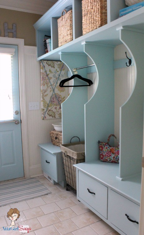 Atta Girl Says Blue Laundry Room- How I Found My Style Sundays- From My Front Porch To Yours