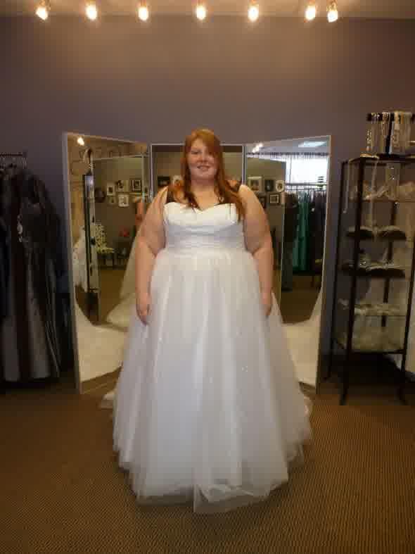 Big fat selection plus size brides bridal dresses trend for Wedding dresses for thick brides