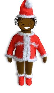 Bonnet, gilet et chaussons pour bébé, esprit Noël, fait main