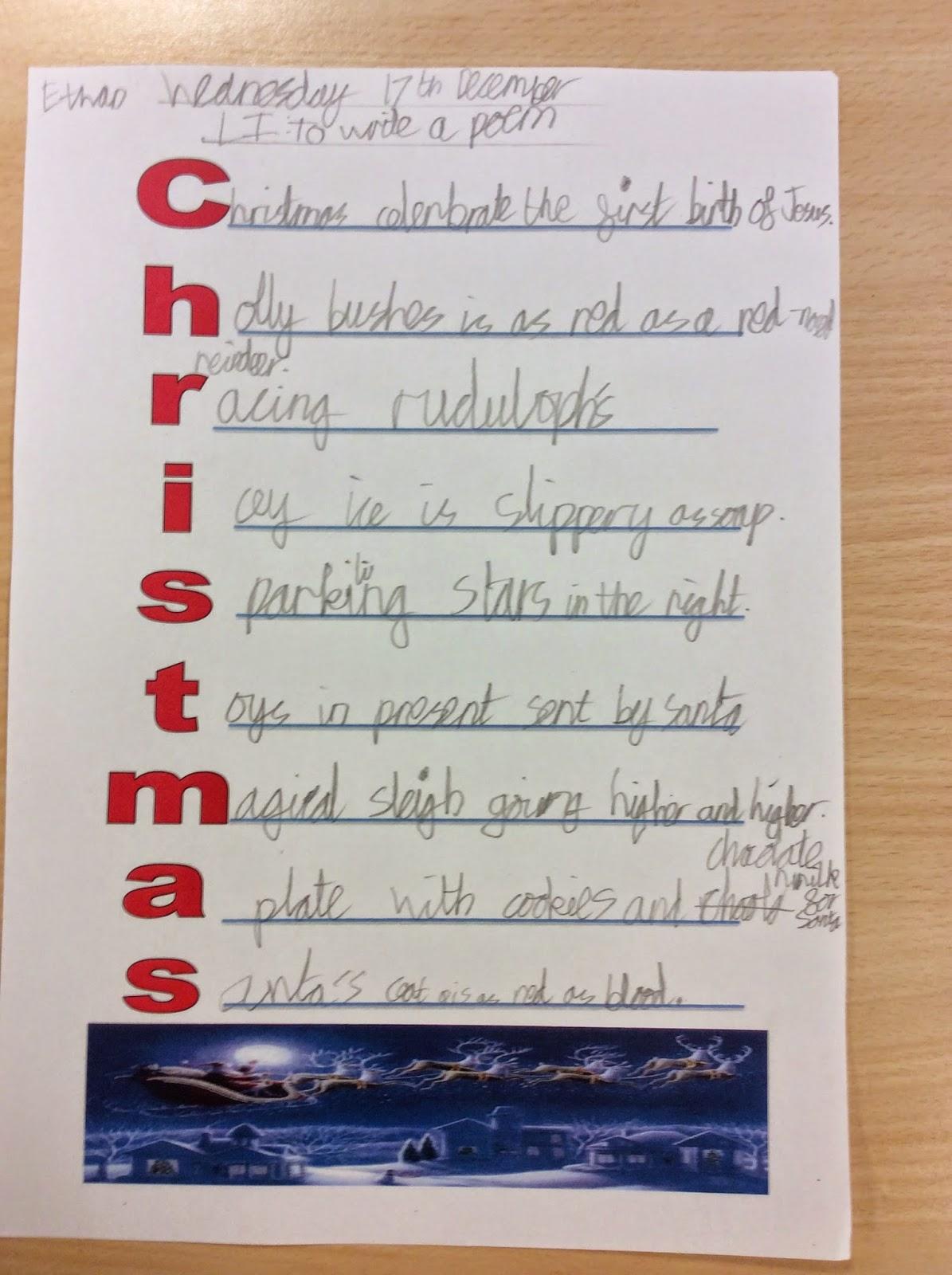 merry christmas acrostic poem that rhymes