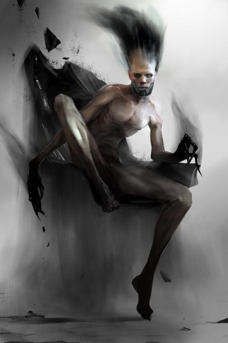 Brenoch Adams ilustrações fantasia ficção Demônio