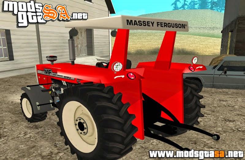SA - Trator Massey Ferguson 1980