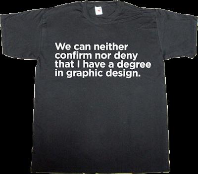 graphic design degree fun cia autobombing t-shirt ephemeral-t-shirts