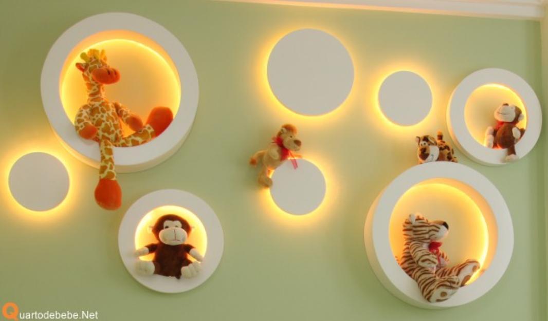 Tapete Safari Quarto Bebe : Para guardar os brinquedos apostem em prateleiras,nichos, ba?s