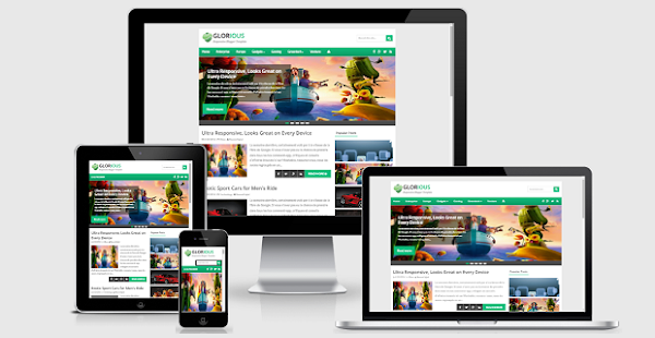 Glorious responsive template