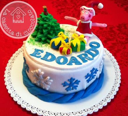 torta peppa pig per edoardo