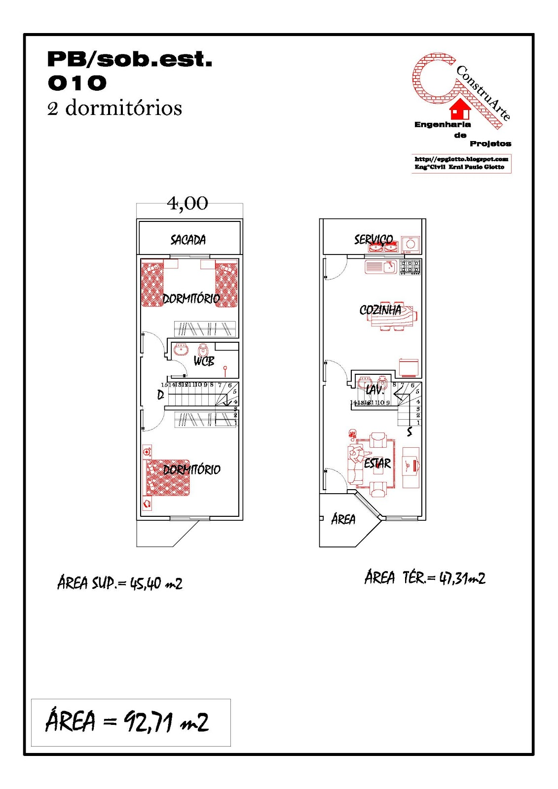 de Planta Baixa Modelos de Sobrados Planta de casa projeto #B61515 1131 1600