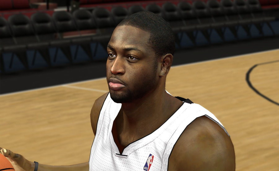 Dwayne Wade Face Patch 2K