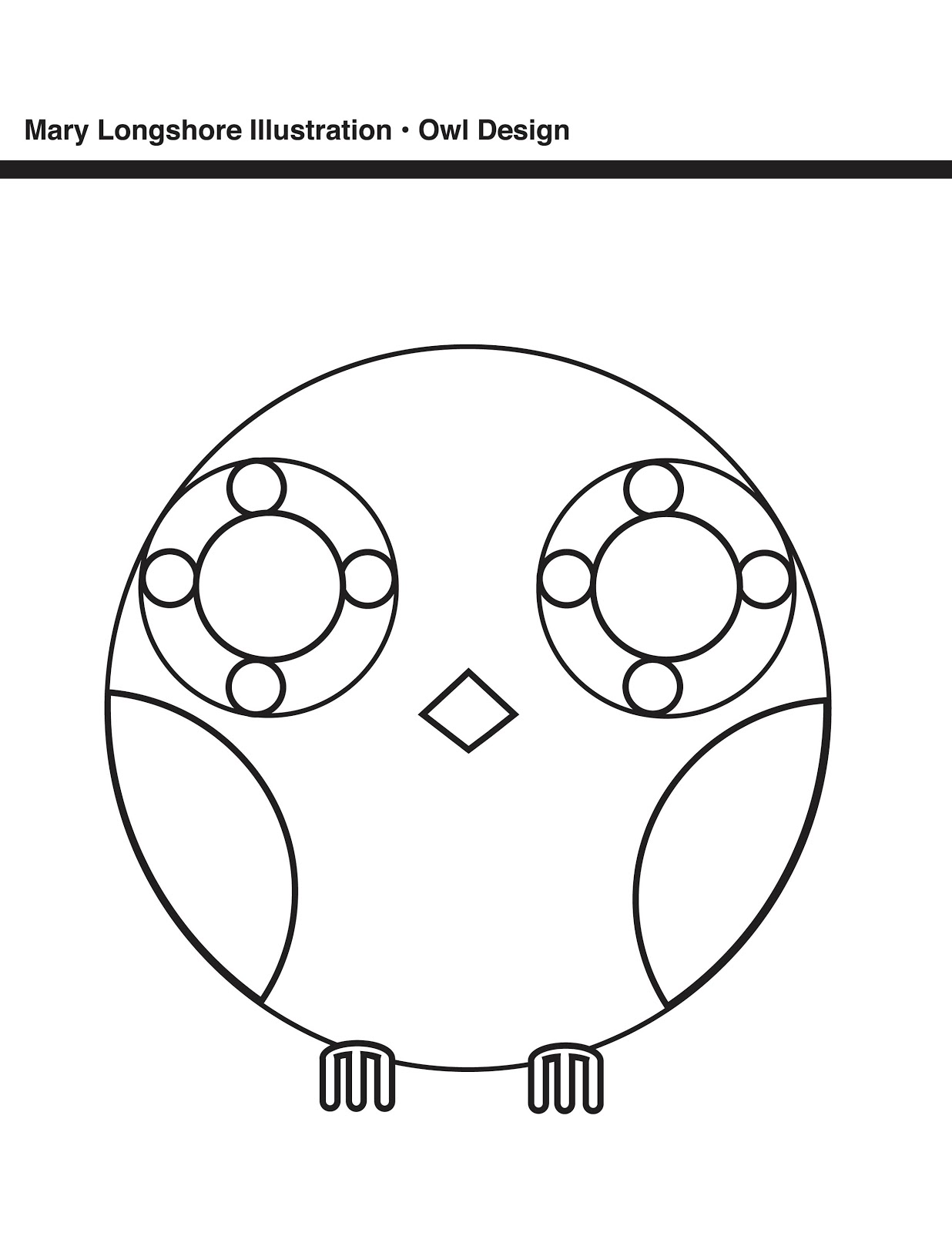 fun owl coloring pages - photo#27