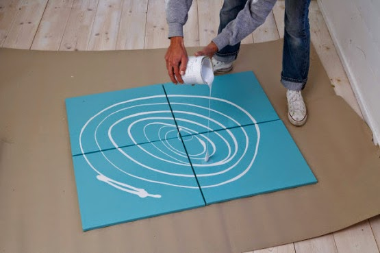 Un sencillo DIY para decorar una pared