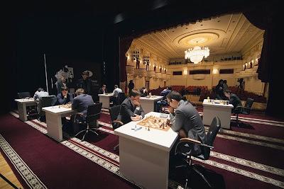 Le Grand Prix d'échecs de Bakou - Photo © Anastasiya Karlovich