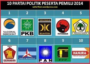 ... partai politik pemilu 1999 gambar lambang partai politik pemilu 2009