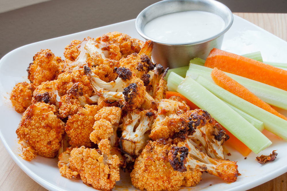 SPICE ISLAND VEGAN: Smokey Roasted Buffalo Cauliflower