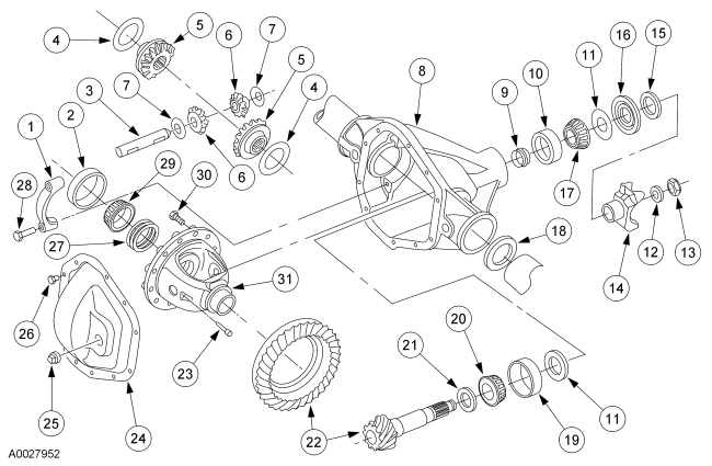 Ford F350 Parts Diagram