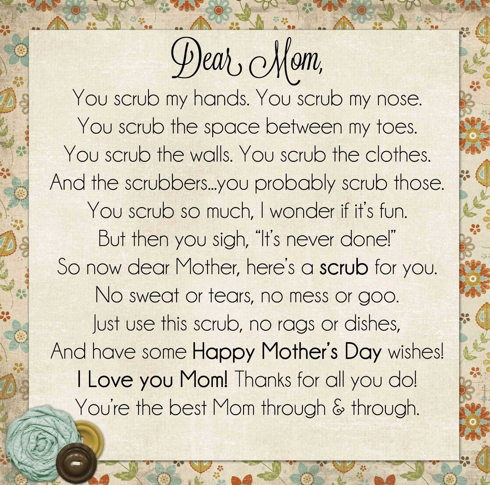 Happy Mothers Day Poems Images u0026 Pictures - Becuo