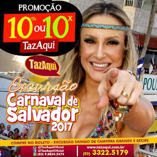 Excursão Carnaval de Salvador 2017