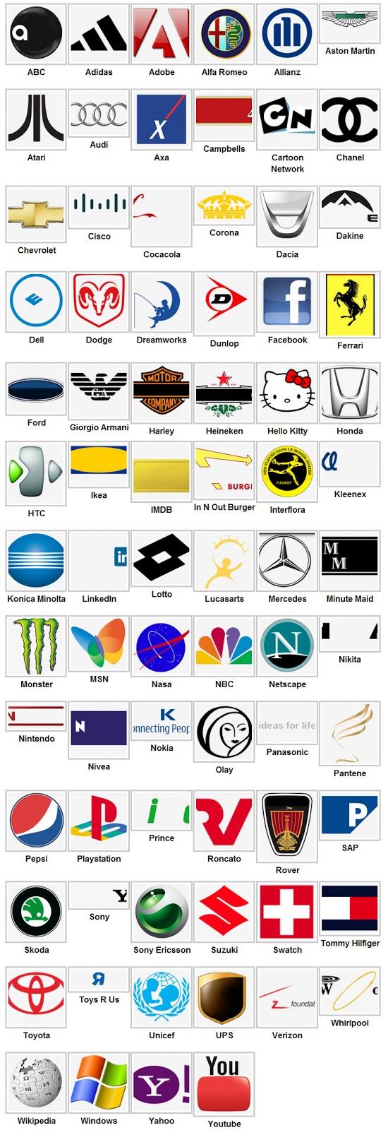 Soluzioni Logo Quiz livello 2 - Logo Quiz risposte livello 2