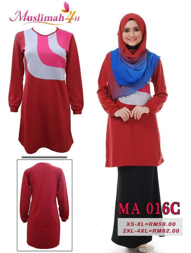 T-shirt-Muslimah4u-MA016C