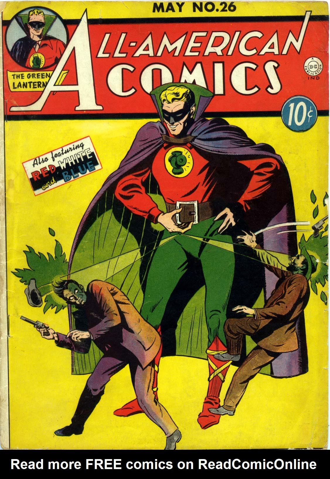 All-American Comics (1939) 26 Page 1