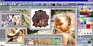 Pixia Photoshop programı