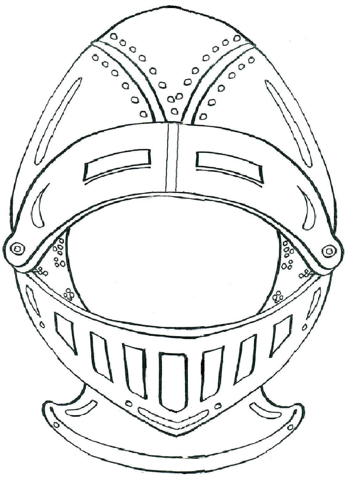 Encantador Caballeros Medievales Para Colorear Componente - Dibujos ...