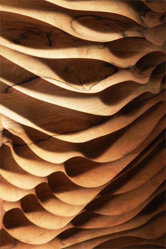 Pareti tridimensionali architettura e design a roma - Pannello decorativo design ...