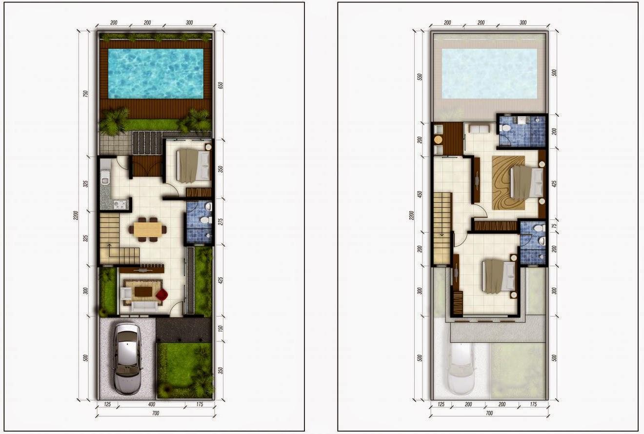 Desain Rumah Sederhana Dengan Kolam Renang