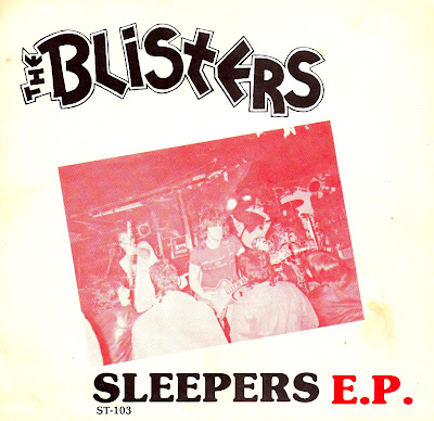 The Blisters - Sleepers E.P. 1988