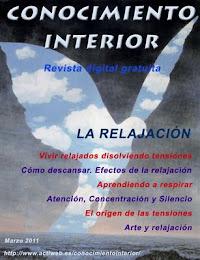 """Revista digital gratuita """"Conocimiento Interior"""" Marzo 2011. La Relajación"""