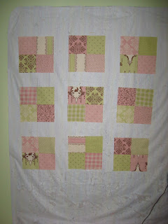 Prim and Preppy Baby Quilt
