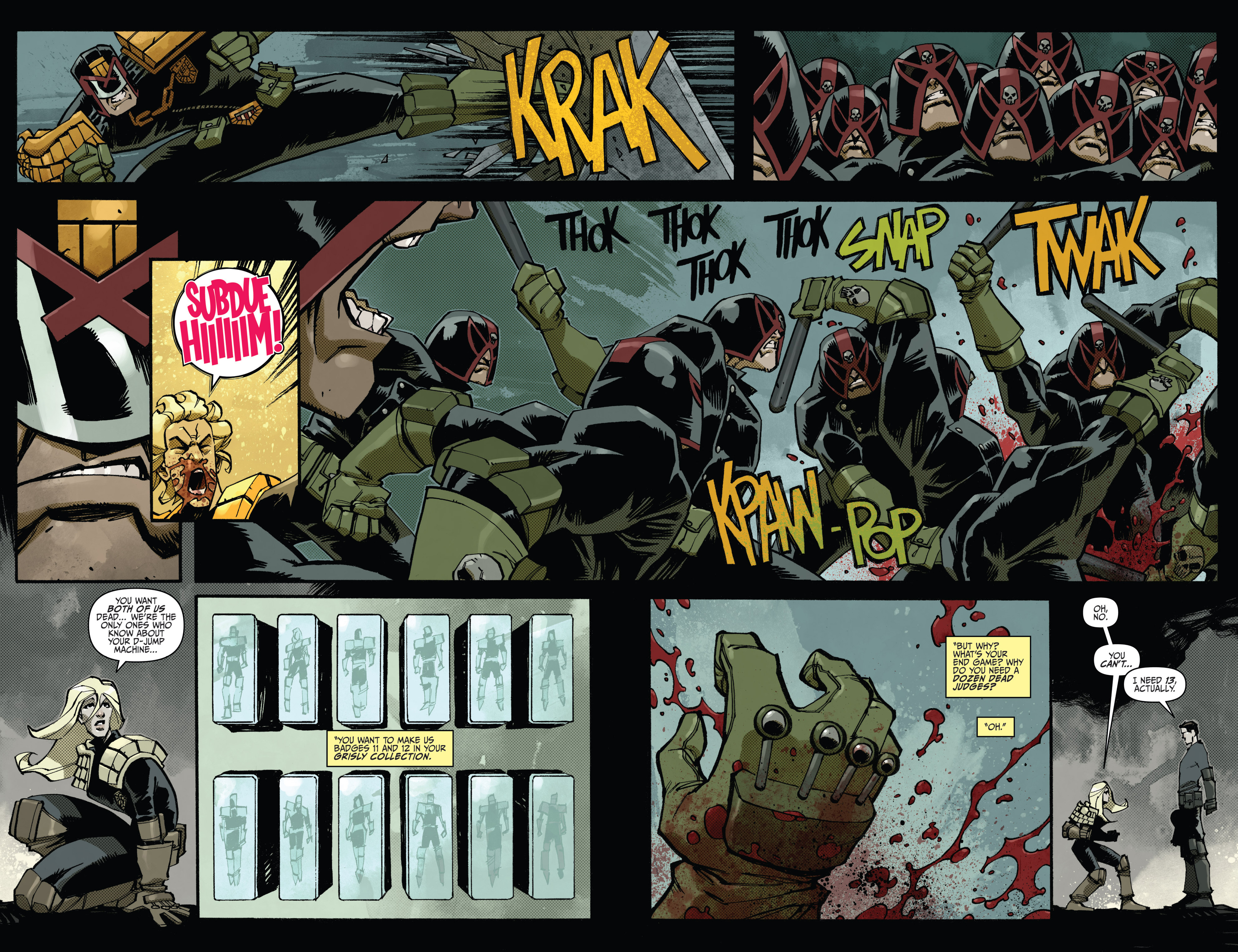 Read online Judge Dredd (2012) comic -  Issue #15 - 14
