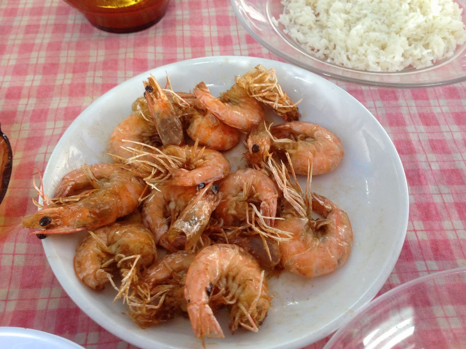 Kedai Makan Rahmat fried prawn