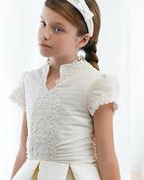 Vestidos de comunión 2012 moda niños