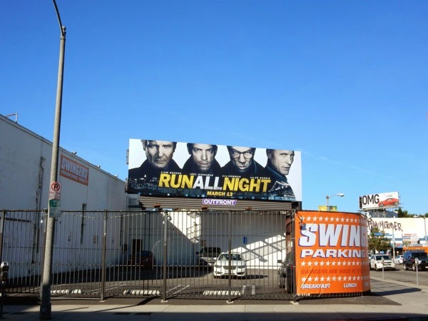 Run All Night movie billboard