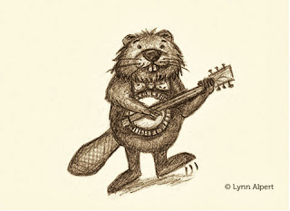 animals playing banjo - photo #23