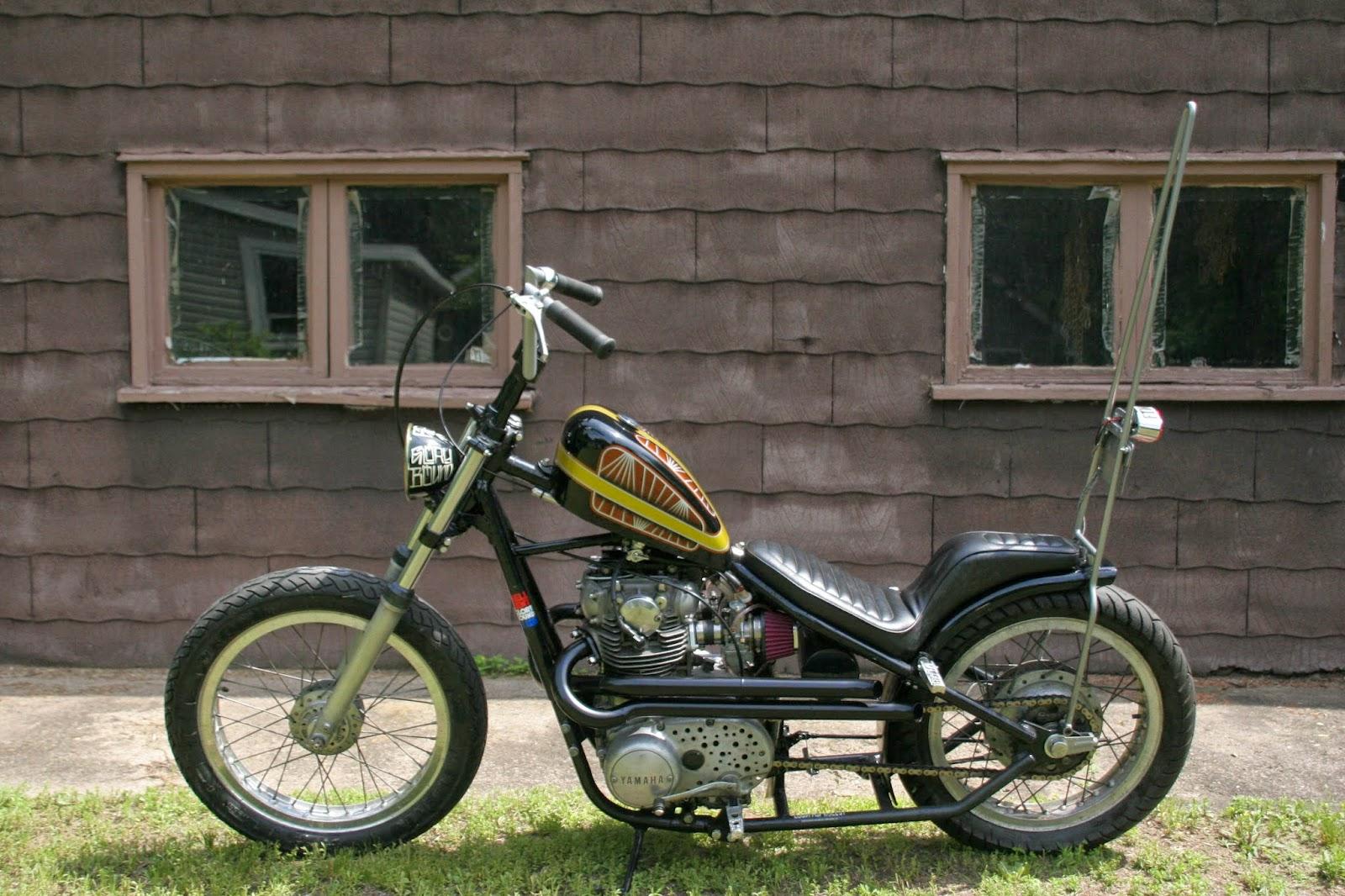 Yamaha XS650 chopper