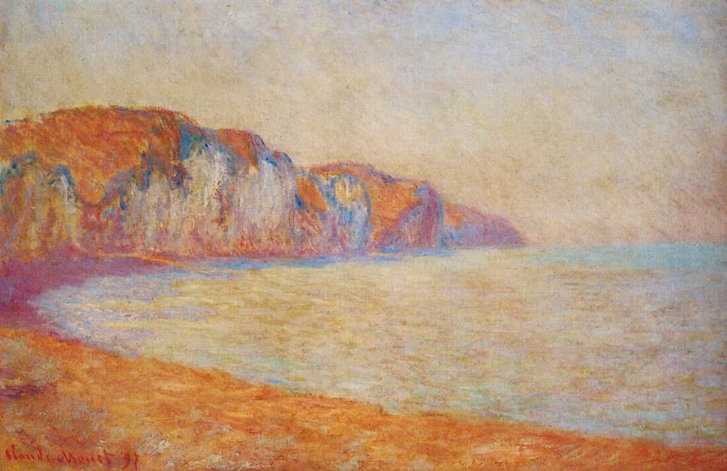 Falaise à Pourville, effect matin (1897)