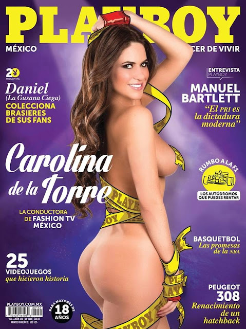 FOTOS: Carolina de la Torre Revista Playboy México‬ Abril 2015