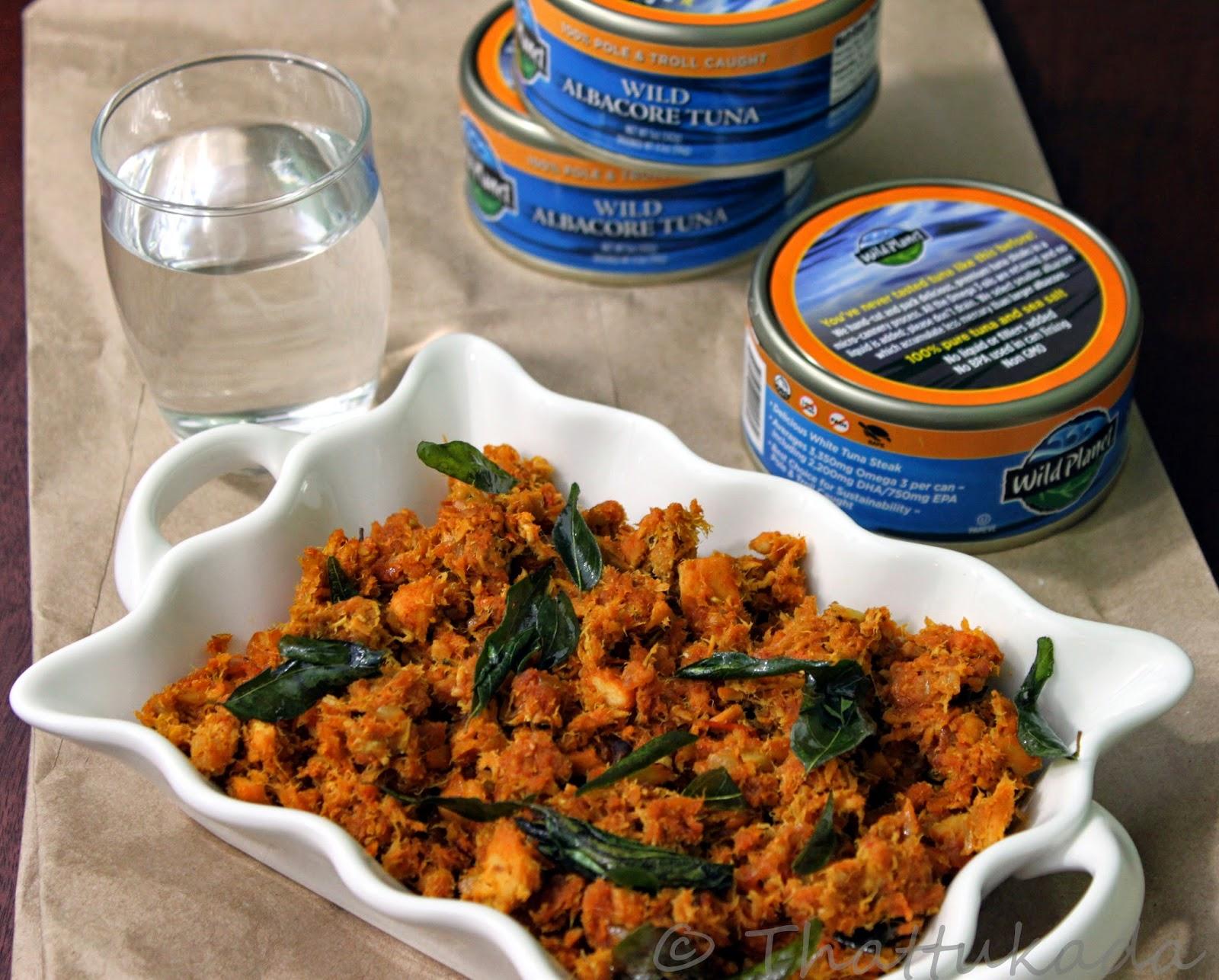Canned tuna roast thattukada for Recipes for tuna fish