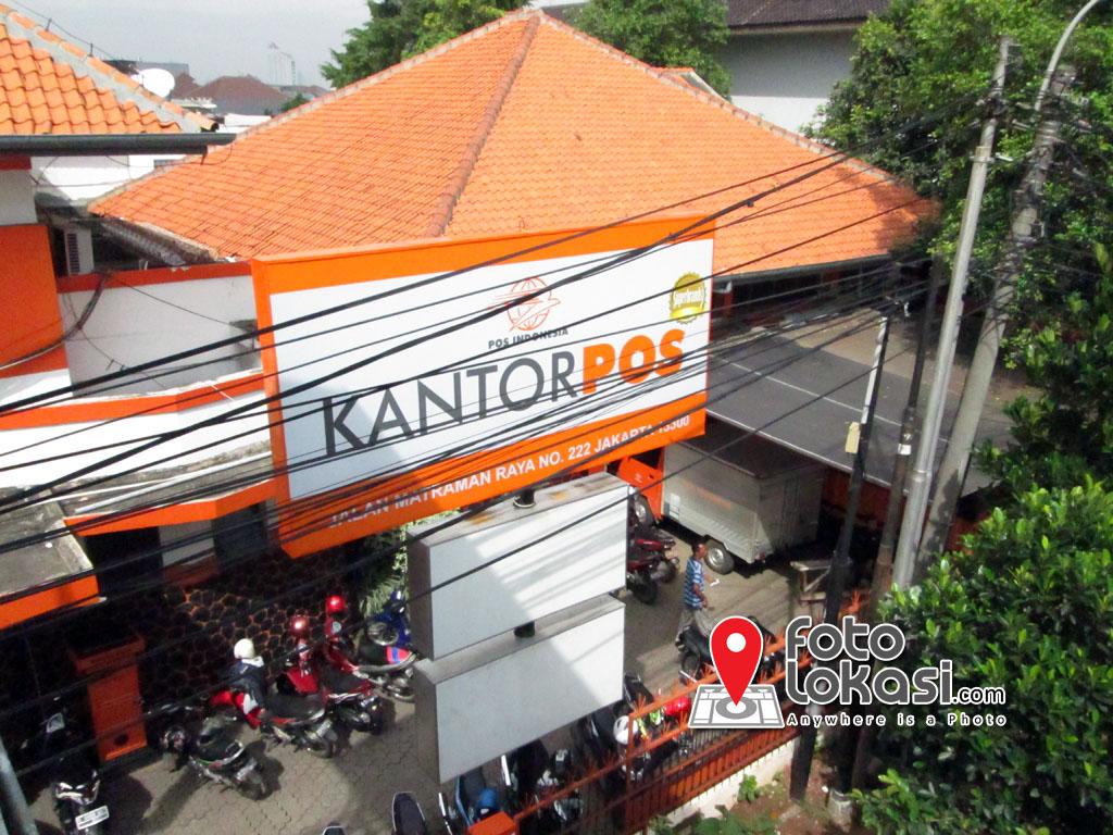Kantor Pos Jatinegara Foto Lokasi