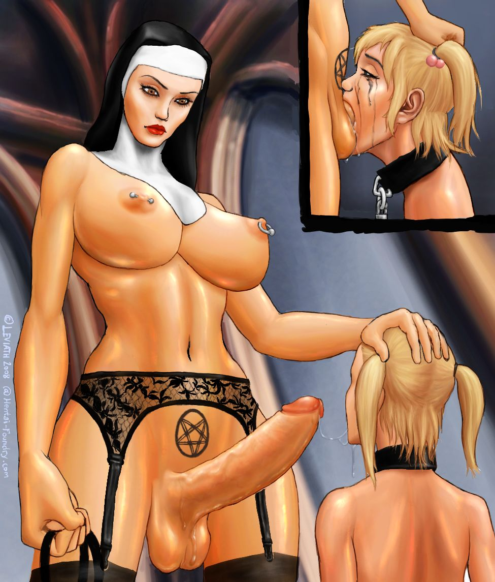 Force fuck a nun
