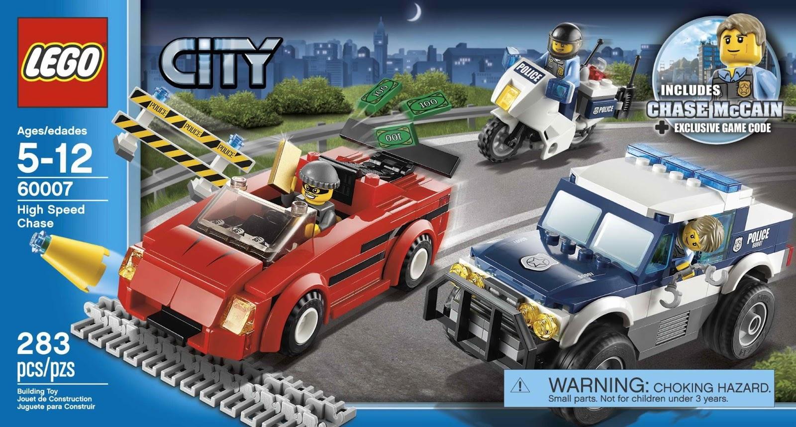 Onetwobrick Set Database Lego 60007 High Speed Chase