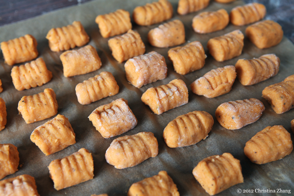 ... The Fig?: Sweet Potato Gnocchi with Brown Butter Sauce and Fried Sage